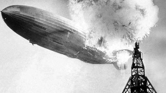 NAZI JERMAN: Tragedi Meledaknya Balon Udara Raksasa