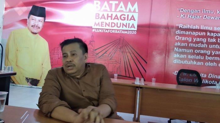 Maju PILWAKO Batam dengan Amsakar Achmad, Begini Reaksi Lukita Dinarsyah Tuwo
