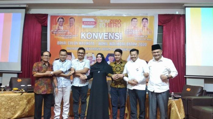 Ini Visi Misi Balon Wali Kota dan Wakil Wali Kota Batam yang Hadir di Konvensi Hanura