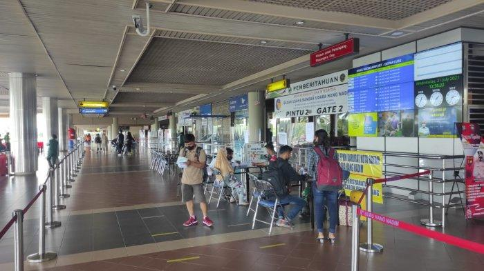 Nasib Bandara Hang Nadim PPKM Level IV Batam, Sepi Penumpang Penerbangan Kurang