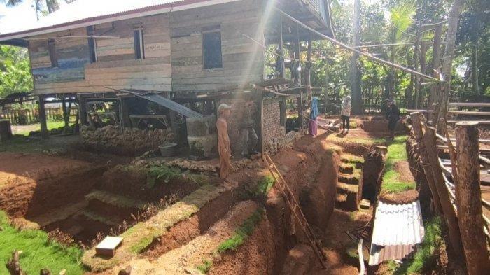 Viral Kakek Ini Buat Rumah Bawah Tanah, Digali Sendiri Sejak 2 Tahun Lalu