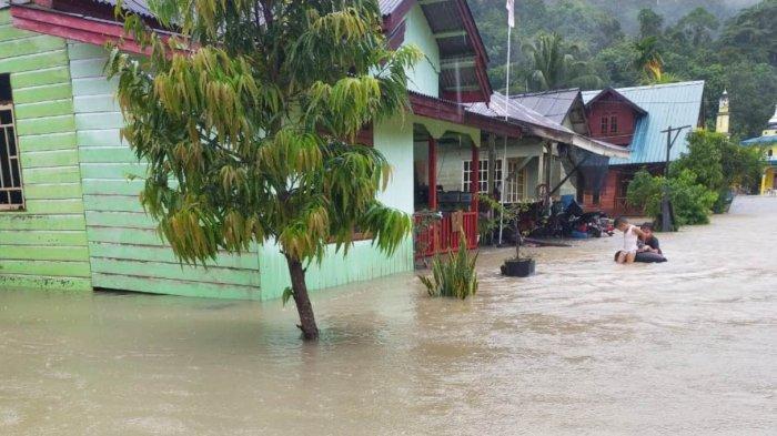 Banjir di Jemaja Timur Anambas, BPBD Minta Warga Waspada Banjir Susulan