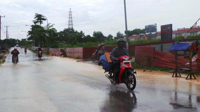Info Cuaca Kepri - BMKG Prediksi Batam Hujan di Pagi Hari, Pulau Bintan Berawan