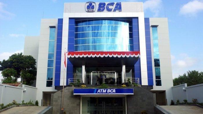 Ilustrasi gedung Bank BCA
