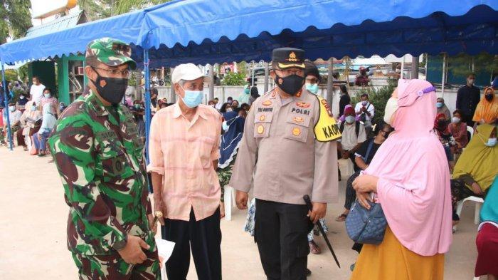 37.109 Kepala Keluarga di Batam Terima Bantuan Beras PPKM 2021