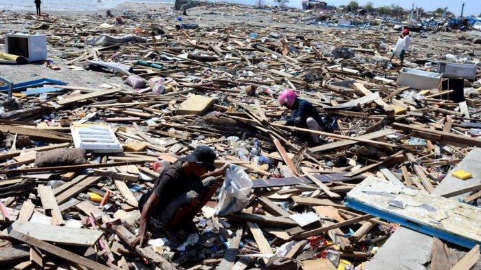 UPDATE GEMPA PALU - Pasca Tsunami, Palu Sulawesi Tengah Sudah Diguncang 546 Gempa Susulan