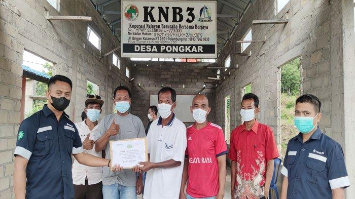 Kelompok Nelayan Karimun Senang, PT Timah Tbk Bantu Alat Tangkap Cari Udang