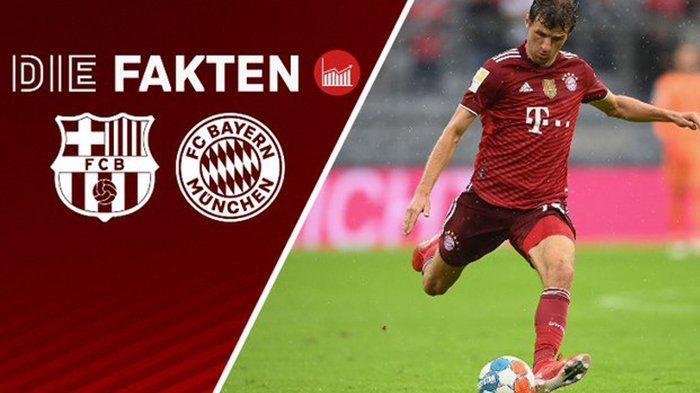 Barcelona vs Bayern Munich Rabu 15 September 2021: Prediksi, Starting Line Up, H2H