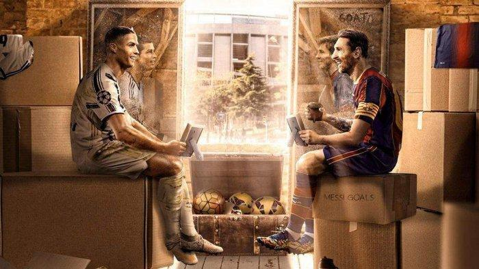 Barcelona vs Juventus Live SCTV pukul 03.00 WIB, Lionel Messi vs Cristiano Ronaldo