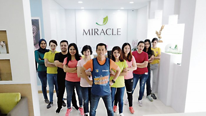 Miracle Aesthetic Clinic Batam Siap Mendukung Barelang International Marathon 2018