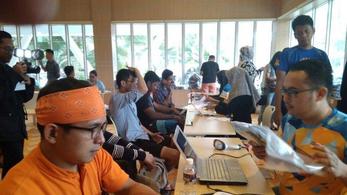 Pendaftaran Barelang Bridge International Marathon di Hotal Harris Barelang