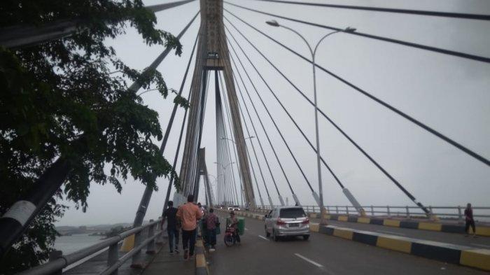 Saat Sepi, Pengunjung Jembatan Barelang Batam Bisa Mengabadikan Momen Foto Tak Biasa