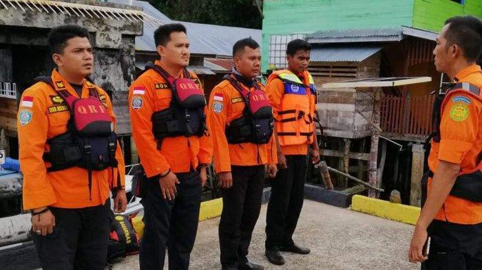 BREAKINGNEWS. Dua Warga Lingga Terseret Arus Laut, Tim SAR Masih Lakukan Pencarian
