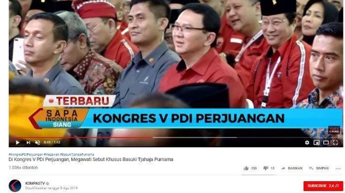 Basuki Tjahaja Purnama (Ahok) Merapat ke PDIP, Bisakah Jadi Menteri Jokowi? Ini Kata Mahfud MD