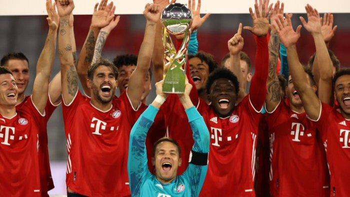 Menang Dramatis! Bayern Munchen Juara Piala Super Jerman Usai Kalahkan Borussia Dortmund