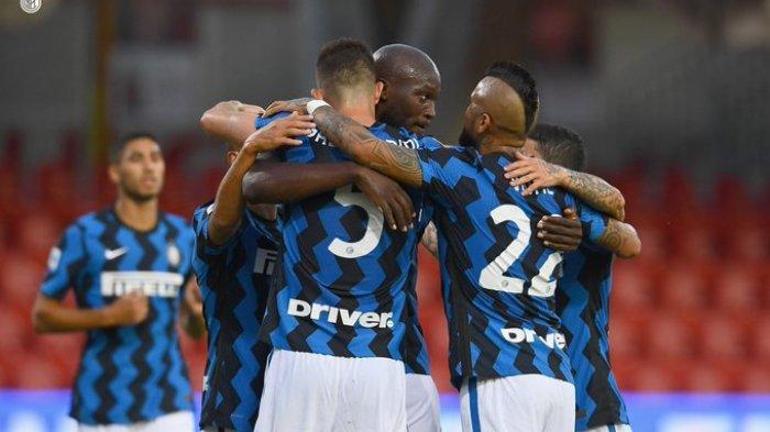 HASIL LIGA ITALIA - Tuan rumah Benevento harus mengakui keunggulan Inter Milan dalam laga tunda pekan pertama Liga Italia, Rabu (30/9/2020).