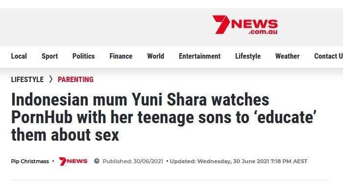 Berita tentang Yuni Shara masuk artikel Australia.
