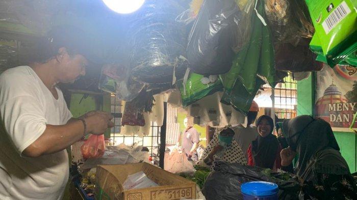BERKAH Jelang Ramadhan 2021, Penjual Santan di Anambas Kewalahan Layani Pembeli