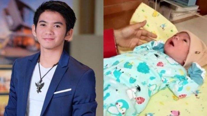 FOTO Ganteng Anak Rizki DA dan Nadya Mustika yang Baru Lahir, Netizen: Mirip Bapaknya
