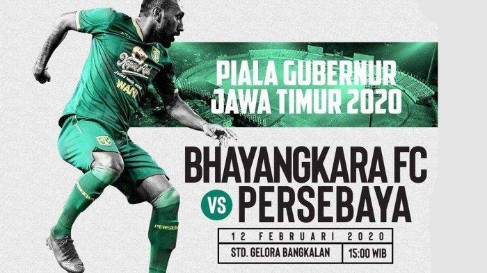 Live Streaming Bhayangkara FC vs Persebaya Kick Off 15.30 WIB Live MNC TV