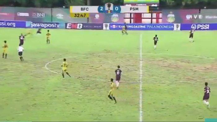 SEDANG BERLANGSUNG! Live Streaming Bhayangkara FC vs PSM Makassar Piala Indonesia, Dua Gol Tercipta