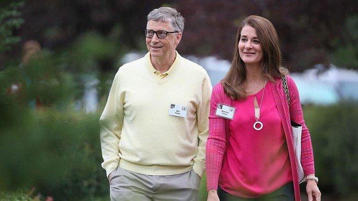 Pendiri Microsoft & Terkaya Nomor 4 Dunia Bill Gates dan Melinda Gates Resmi Cerai