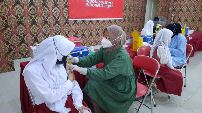Capaian Vaksinasi Covid-19 di Tanjungpinang Per 14 September 2021