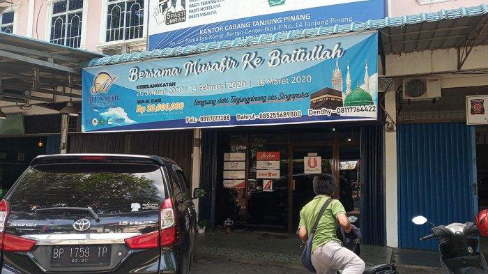Calon Jamaah Datangi Biro Perjalanan Umrah di Tanjungpinang, 'Kami Tanggungjawab, Jangan Panik'