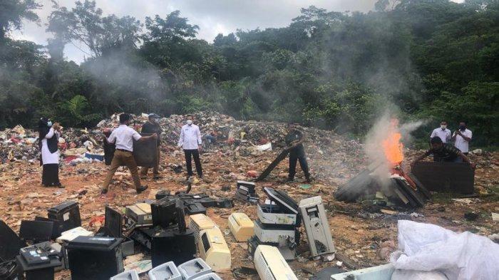 BKD Anambas Bakar Barang Milik Daerah, Jangan Salah Sangka, Ternyata Ini Sebabnya