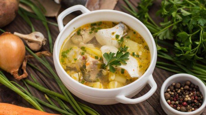 Resep Sup Ikan Kakap Kuah Kuning, Sajian Makan Malam Hangat untuk Keluarga
