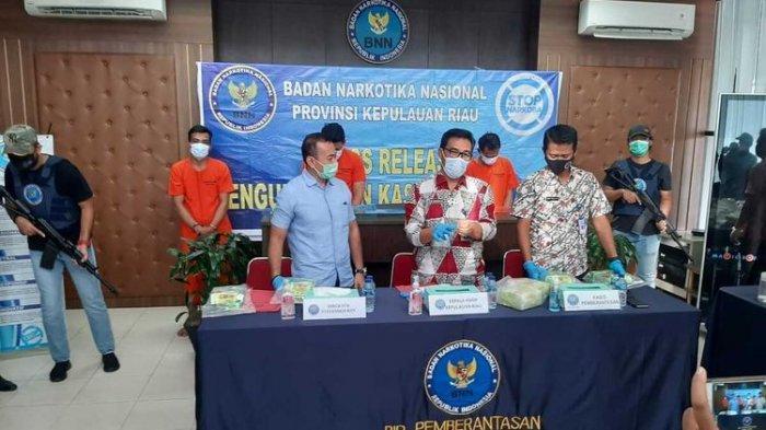 From Malaysia, 33 kg of Sabu Smuggled through Batam to be Distributed to Palembang