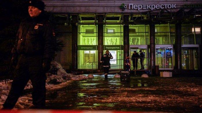 Lagi, Ada Bom Meledak di St Petersburg Rusia dan Melukai 10 Orang