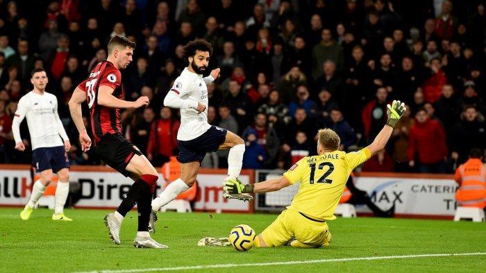 Hasil Liga Inggris 2019 - Gilas Bournemouth 3-0, Liverpool Kokoh di Puncak Klasemen
