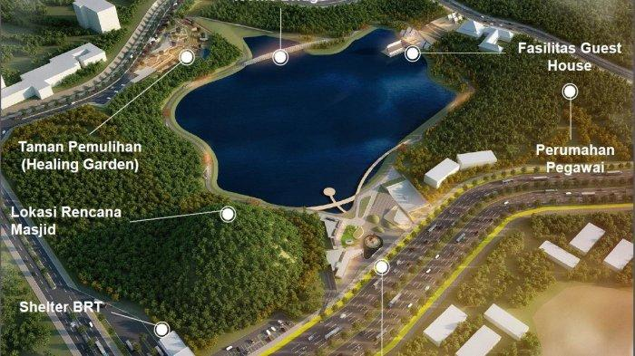 BP BATAM Tata Taman Kolam dan Bangun Jalur Sepeda di Tamam Rusa Sekupang