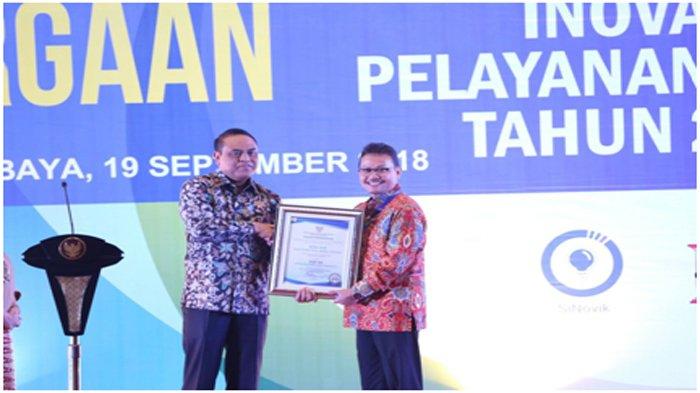 Mobile JKN Masuk Jajaran 99 Top Inovasi Pelayanan Publik Tahun 2018 dari Kementerian PANRB