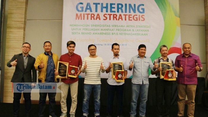 Caterpillar Indonesia Batam dan 2 Perusahaan Raih Penghargaan Platinum BPJS Ketenagakerjaan