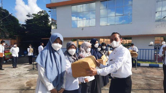 Kemeriahan Peringati HSN di BPS Kepri, Ada Lomba Khusus Untuk Pegawai