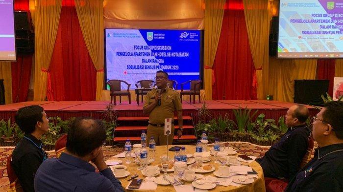 Pengelola Apartemen dan Hotel di Batam Diminta Ikut Sukseskan Sensus Penduduk 2020