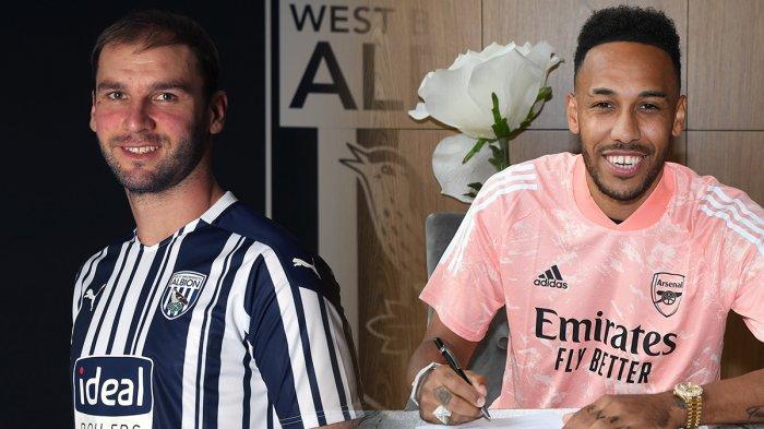 UPDATE Transfer Liga Inggris - West Brom Rekrut Eks Chelsea Ivanovic, Aubameyang Teken Kontrak Baru
