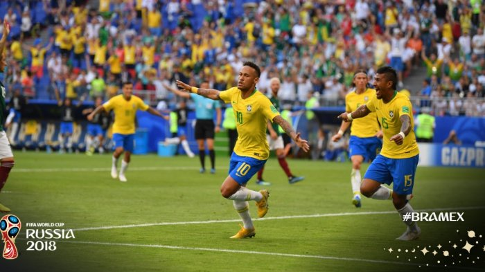 Brasil Akhirnya Lolos ke Perempat Final