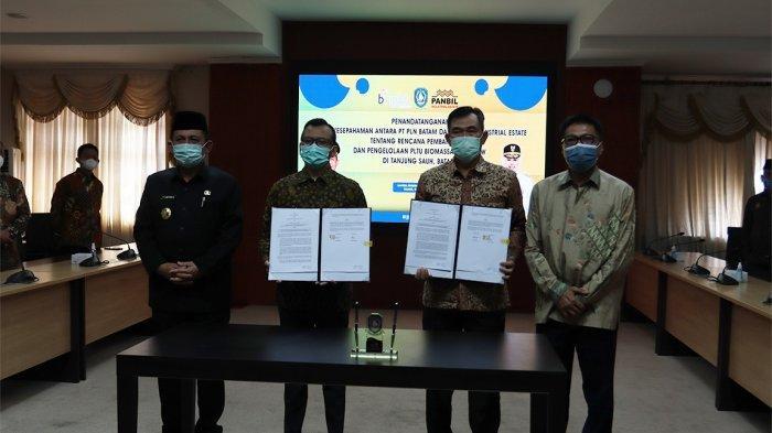 Tandatangan MoU, PT PLN Batam dan PT Panbil Utilitas Sentosa Kembangkan PLTU Tanjung Sauh