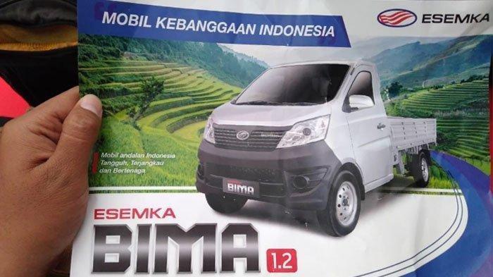 Presiden Jokowi Luncurkan Mobil Esemka Bima, Segini Harganya dan Spesifikasinya
