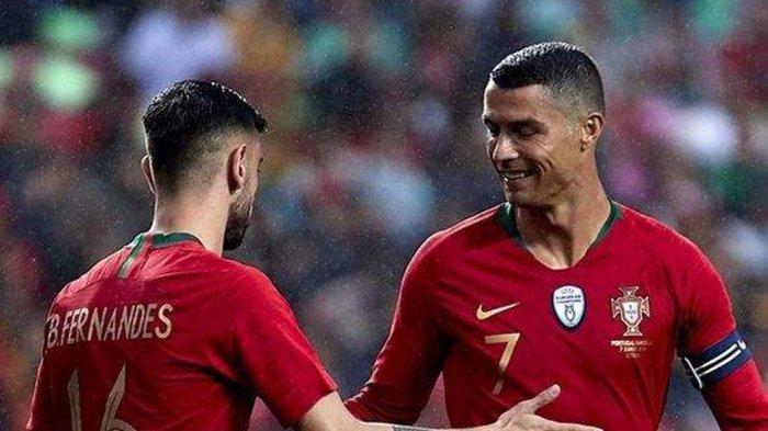 Siaran Langsung Hungaria vs Portugal, Kick Off 23.00 WIB, Cristiano Ronaldo Siap Pecahkan 2 Rekor