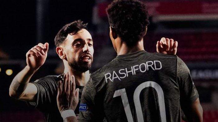 Manchester United Menang Lawan Granada, Solskjaer: Marcus Rashford & Bruno Fernandes Luar Biasa