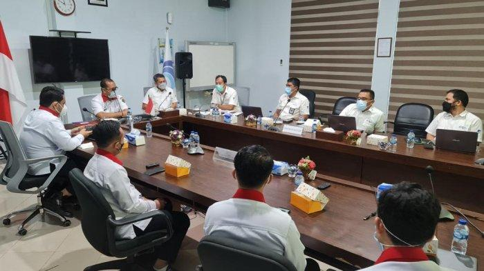 Perkuat Keamanan Perbatasan, Balai Deteksi Sinyal BSSN Adakan Courtesy Call dengan Balmon Batam