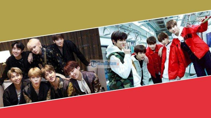 Kpop Idol BTS & TXT Asuhan Big Hit Entertainment Kabarnya Beda Label di Amerika, Bakal Saingan?
