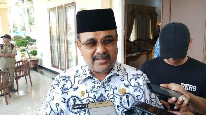 2020, Bupati Karimun Aunur Rafiq Janji Bangun Sekretariat PGRI
