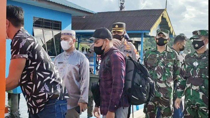 Bupati Lingga Bakal Beri Sanksi Desa dan Kecamatan Abaikan Protokol Kesehatan