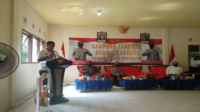 Bupati Natuna Apresiasi Kampung Tangguh Bersih Narkoba Bentukan Polres Natuna