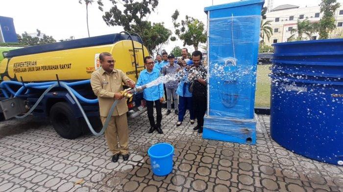 Kabupaten Karimun Dilanda Musim Kekeringan, Kementerian PUPR Siapkan Mobil Tangki Air 4.000 Liter